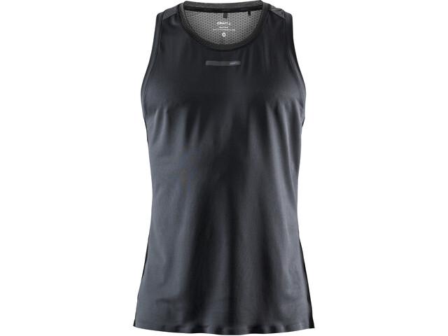 Craft Vent T-shirt Maille Homme, black/fiesta